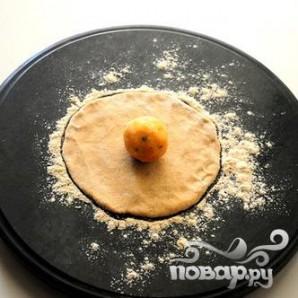 Индийский хлеб - фото шаг 5