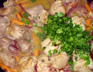 Свинина с рисом и овощами - фото шаг 4