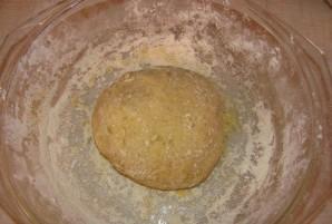 Пышки на сковороде - фото шаг 4