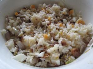 Курица, запеченная с рисом - фото шаг 1