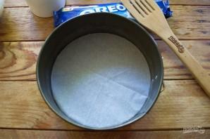 """Перевернутый пирог с печеньем """"Орео"""" - фото шаг 6"""