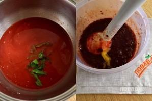 Суп из черешни с мороженым - фото шаг 2