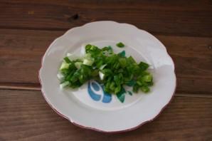 Творог с зеленью - фото шаг 1