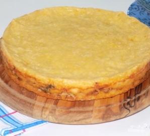 Пирог с капустой заливной на кефире - фото шаг 11