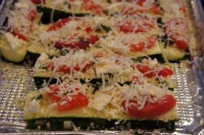 Кабачки, запеченные в духовке с сыром - фото шаг 2