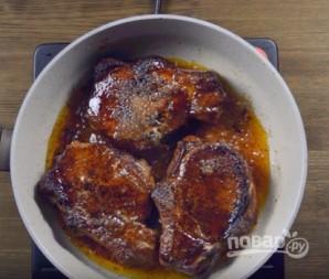 Глазированный стейк из свинины - фото шаг 5