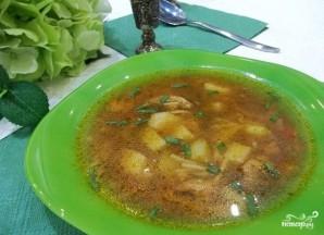 Суп с бычками в томатном соусе - фото шаг 7
