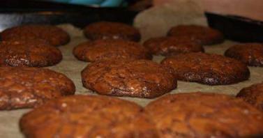 Самые шоколадные печенья - фото шаг 6
