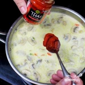 Тайский куриный суп - фото шаг 21