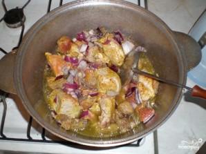 Дамляма из свинины и говядины - фото шаг 5