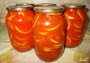 Кабачки в томатном соусе на зиму - фото шаг 6