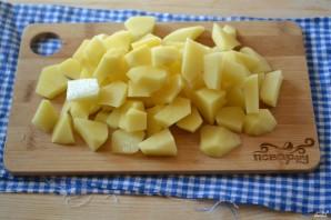 Грибной суп с плавленым сыром - фото шаг 2