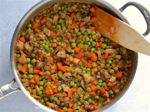 """Вегетарианский """"Пастуший"""" пирог - фото шаг 4"""
