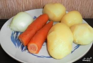 Салат картофельный с огурцами - фото шаг 1