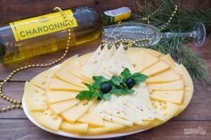 Сырная нарезка к вину - фото шаг 6