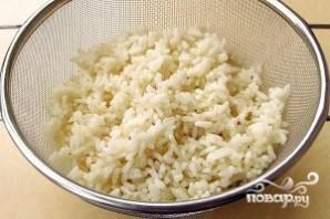Печеночные оладьи с рисом - фото шаг 1