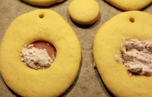 Новогоднее печенье на елку - фото шаг 7