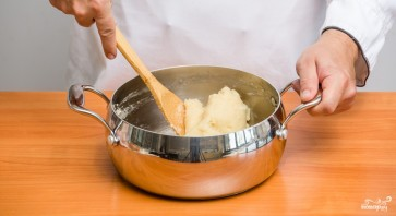 Торт из заварного теста с медом - фото шаг 2