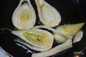 Салат из фенхеля и апельсина с заправкой из авокадо - фото шаг 5