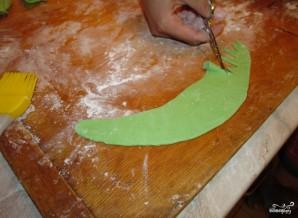 Детский торт с мастикой своими руками - фото шаг 5
