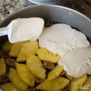 Ананасовый пирог с орехами пекан - фото шаг 11