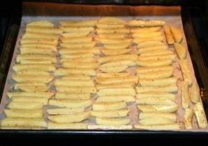 Картофель фри без масла - фото шаг 5