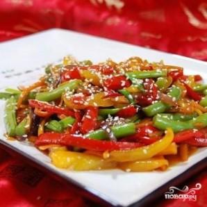 Стир-фрай с овощами - фото шаг 5