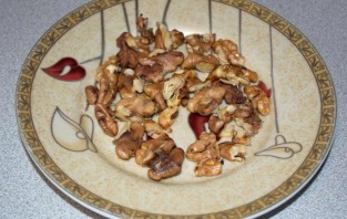 Салат с лисичками маринованными - фото шаг 3