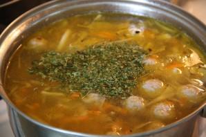 Капустный суп с фрикадельками - фото шаг 7