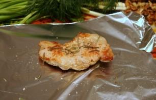 Мясо кусочками, запеченное в духовке - фото шаг 3