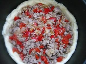 Пирог с мясом в мультиварке - фото шаг 7