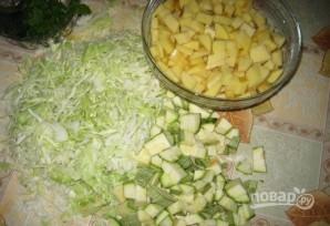 Овощное рагу в казане - фото шаг 1