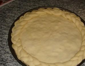 Пирог с камбалой - фото шаг 7