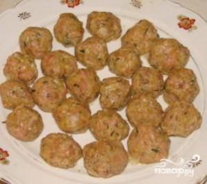 Суп вермишелевый с фрикадельками - фото шаг 2