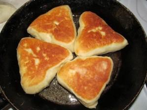 Пирожки с печенью и рисом - фото шаг 7