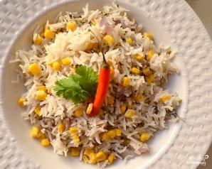Рис с кукурузой в мультиварке - фото шаг 7