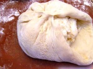 Осетинский пирог с сыром и картофелем - фото шаг 4