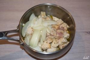 Куриное филе в грибном соусе - фото шаг 4