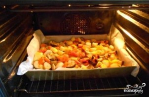 Гарнир к индейке в духовке - фото шаг 7