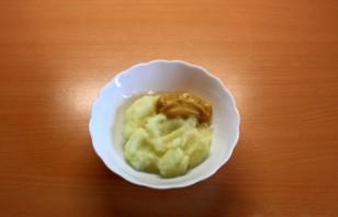 Пангасиус с картофелем в духовке - фото шаг 2