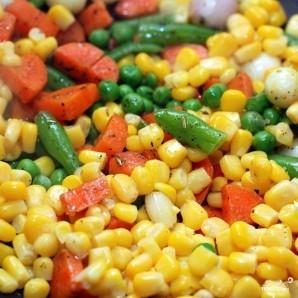 Гарнир из басмати и овощей - фото шаг 6