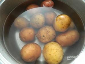 Картофельные шарики с ветчиной и сыром - фото шаг 1