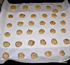 Ореховое печенье с шоколадом - фото шаг 2