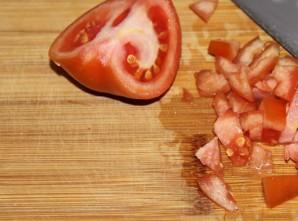Омлет с помидорами в микроволновке   - фото шаг 2