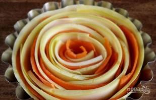 Запеканка овощная с сыром - фото шаг 2
