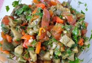 Армянский салат из печеных овощей - фото шаг 3
