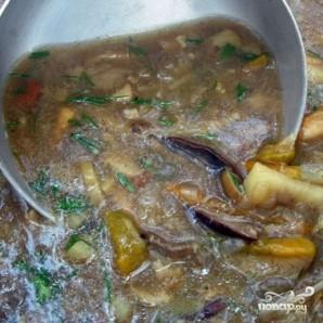Пассерованный грибной суп - фото шаг 8