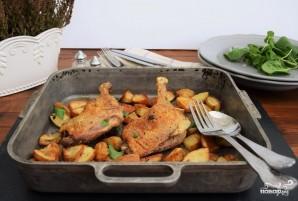 Утка кусочками с картошкой в духовке - фото шаг 7