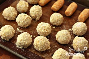 Крокеты с индейкой и сладким картофелем - фото шаг 3