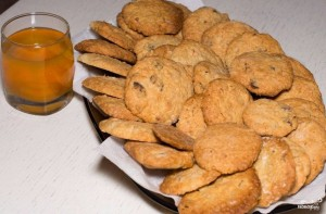 Мягкое овсяное печенье - фото шаг 4